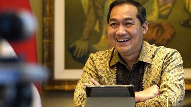Indonesia aims for 40 pct of ASEAN's digital economy market share by 2025 hinh anh 1