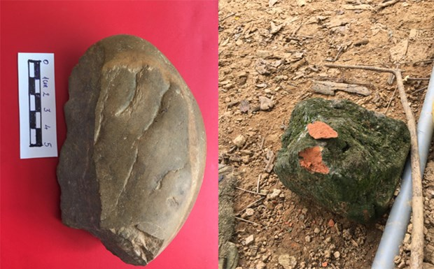 New prehistoric archaeological site discovered in Yen Bai hinh anh 1
