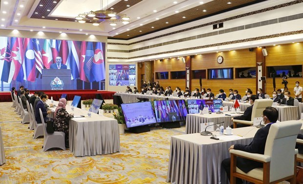 Singapore Speaker of Parliament affirms AIPA's role in supporting ASEAN Community hinh anh 1