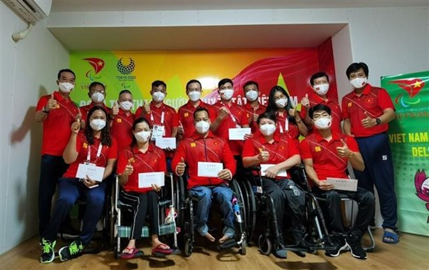 Vietnamese athletes ready for competition at Tokyo 2020 Paralympics hinh anh 1
