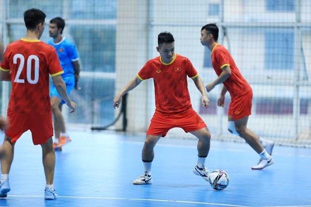 Vietnamese futsal team heads to Spain hinh anh 1