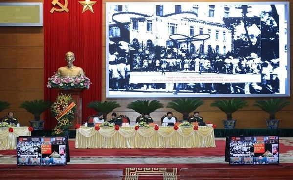 National conference highlights military talent, moral example of General Vo Nguyen Giap hinh anh 2