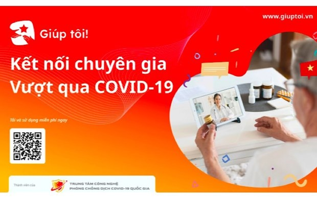 Technology project helps connect doctors with COVID-19 patients hinh anh 1