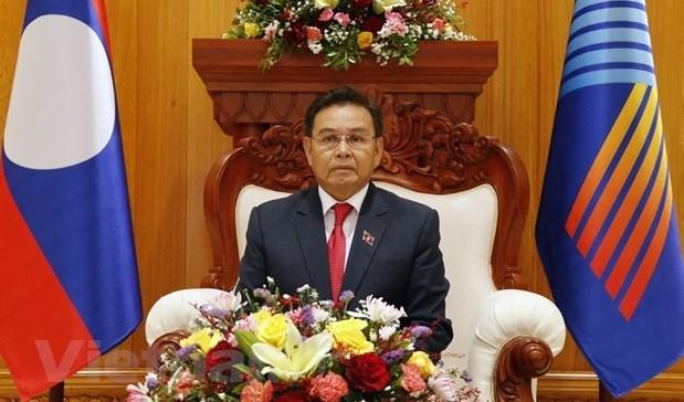 Lao top legislator appreciates Vietnam's proposals at AIPA-42 hinh anh 1