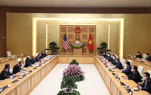 PM Pham Minh Chinh: Vietnam treasures ties with US hinh anh 2