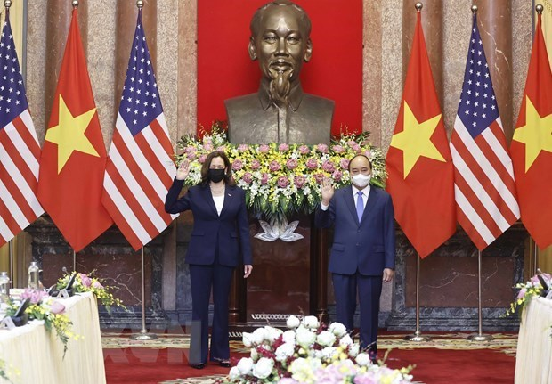 US is always one of leading important partners of Vietnam: President hinh anh 1