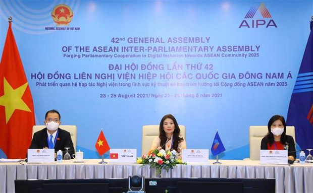 AIPA to establish dialogue mechanisms with ASEAN and EP hinh anh 2