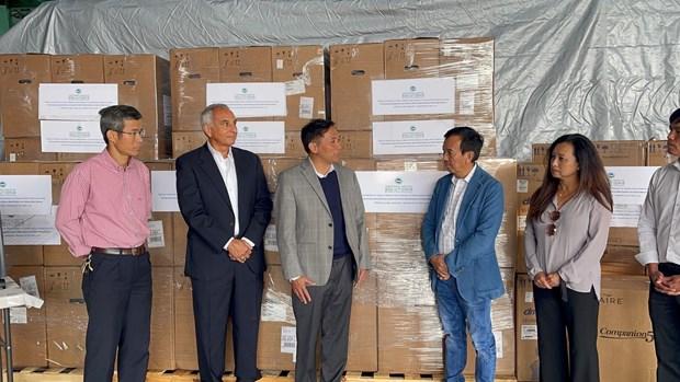 Oversea Vietnamese in US donates 250 ventilators to homeland hinh anh 1