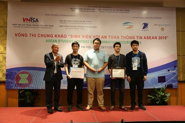 2021 ASEAN Student Contest on Information Security to be held online hinh anh 1