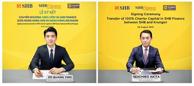SHB to transfer 100 percent of capital in SHB Finance to Thailand's Krungsri hinh anh 1