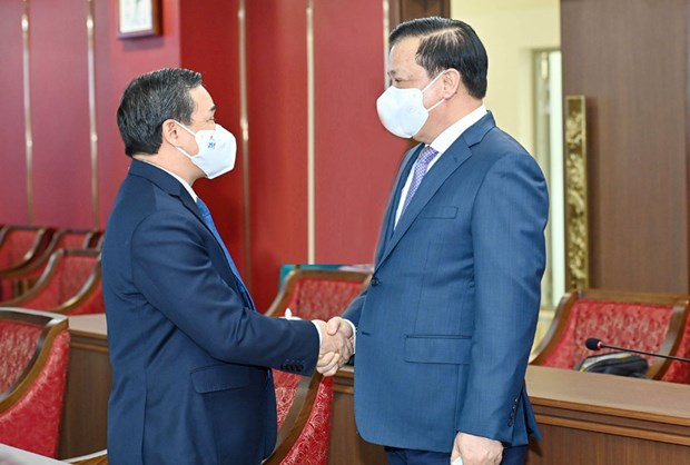 Capital cities of Vietnam, Laos foster multi-faceted cooperation hinh anh 2