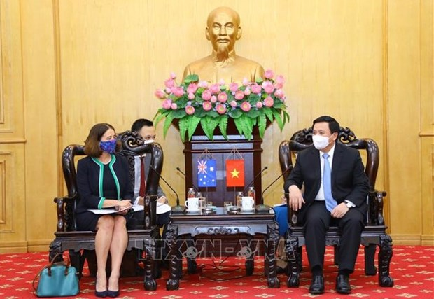 Vietnam, Australia move to set up joint research centre hinh anh 2