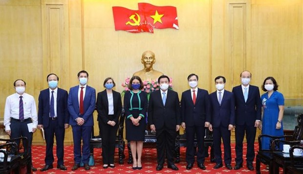 Vietnam, Australia move to set up joint research centre hinh anh 3