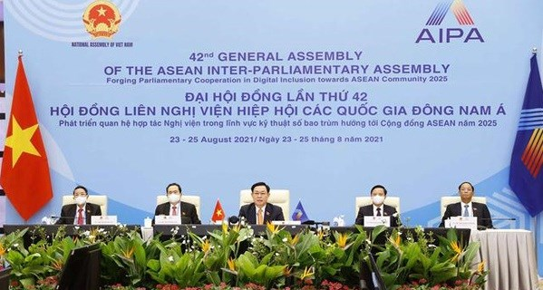 Brunei Darussalam lauds Vietnam's pioneering role in hosting AIPA General Assembly virtually hinh anh 1