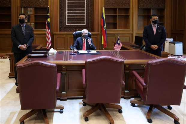Malaysia unveils new cabinet line-up hinh anh 1