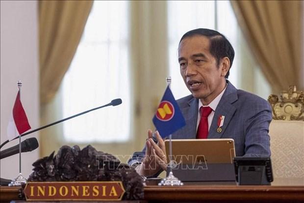 Indonesian President highlights three key economic, business strategies hinh anh 1