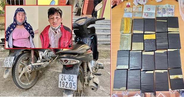 Lao Cai police break large trans-border drug trafficking ring hinh anh 1