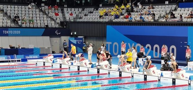 Vietnamese swimmers enter final round at Tokyo 2020 Paralympic Games hinh anh 1
