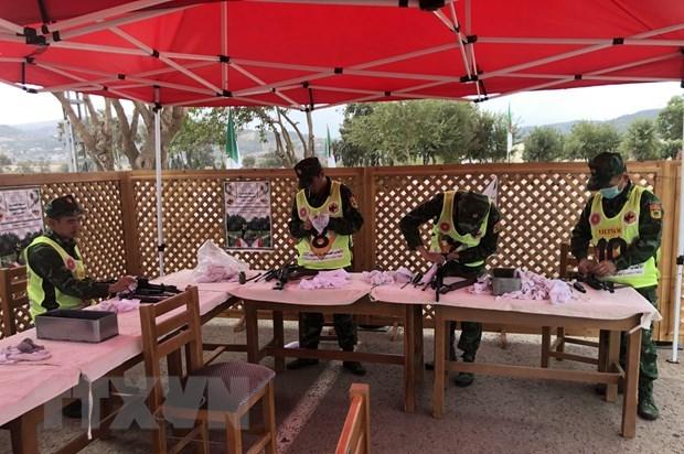 Le Vietnam termine deuxième au AK Rifle Team Shooting à Hin-1, en Algérie
