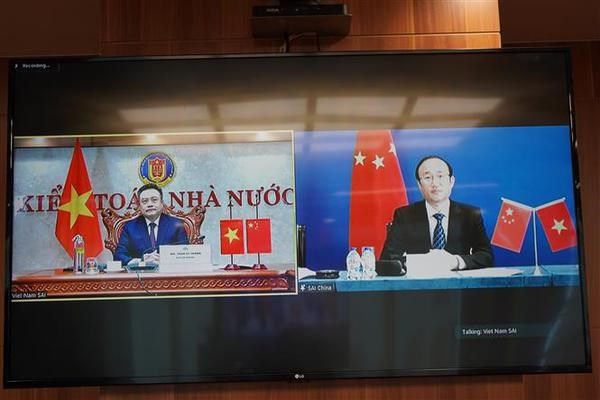 Vietnamese, Chinese State audit agencies beef up collaboration hinh anh 1