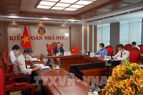 Vietnamese, Chinese State audit agencies beef up collaboration hinh anh 2