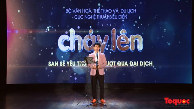 """""""Chay Len 2"""" online art programme scheduled for September 1 hinh anh 1"""