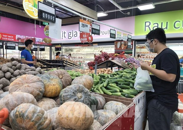 HCM City's CPI up 0.33 percent in August hinh anh 1