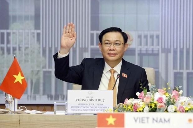 Vietnamese, Thai top legislators hold online talks hinh anh 1