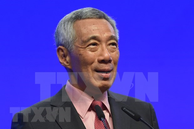 Singaporean PM affirms policy to stay open hinh anh 1