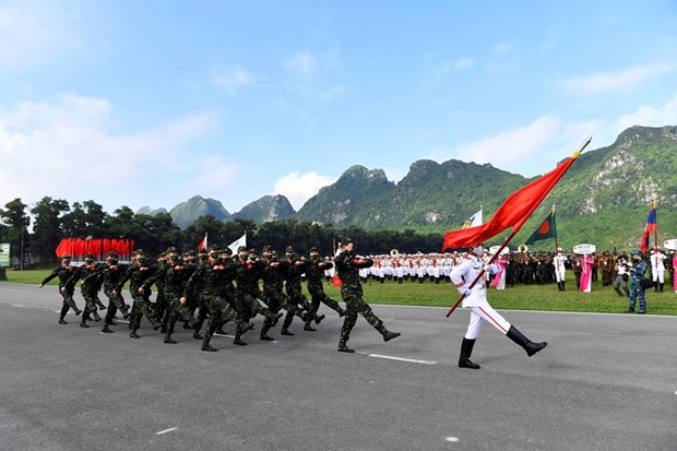 Contests of Army Games 2021 kicks off in Vietnam hinh anh 1