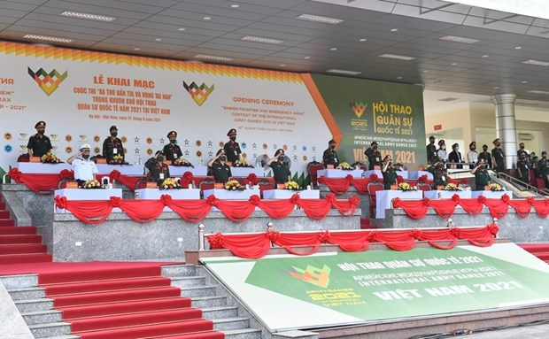 Contests of Army Games 2021 kicks off in Vietnam hinh anh 2