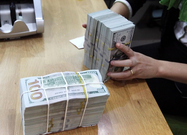 Reference exchange rate down 12 VND hinh anh 1