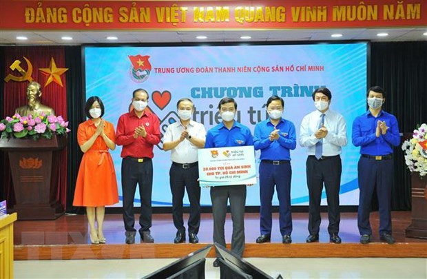HCYU Central Committee supports disavantaged people amid COVID-19 hinh anh 1