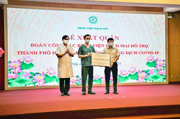Vinacomin aids COVID-19 combat in localities hinh anh 1