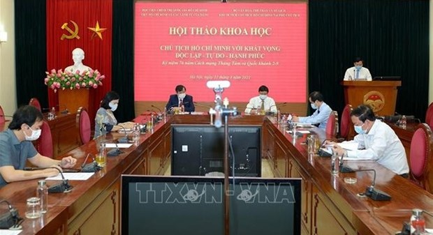 President Ho Chi Minh with aspiration for independence, freedom, happiness spotlighted hinh anh 2