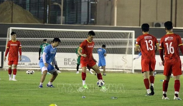Vietnam ready for first match of World Cup qualifiers' final round hinh anh 1
