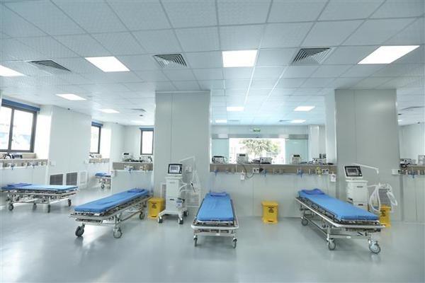 Hanoi's COVID-19 treatment hospital put into operation hinh anh 2
