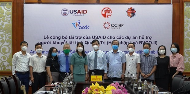 USAID launches projects to support disabled people in Quang Tri hinh anh 1