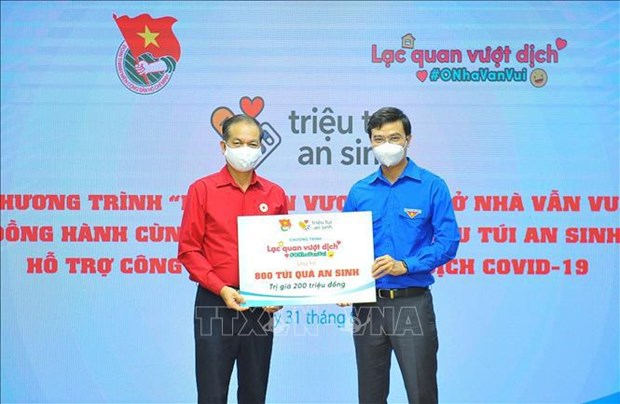 """PM welcomes youth union's """"one million welfare bags"""" programme hinh anh 2"""