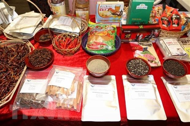 I prodotti agricoli vietnamiti sono stati presentati al Festival del peperoncino in Italia hinh anh 1