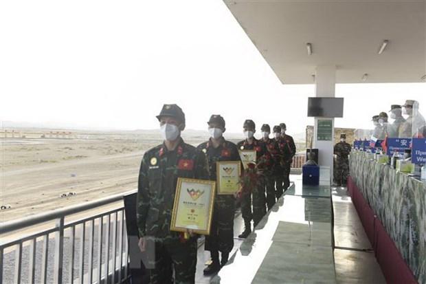 Vietnam ranks 7th at International Army Games 2021 hinh anh 1