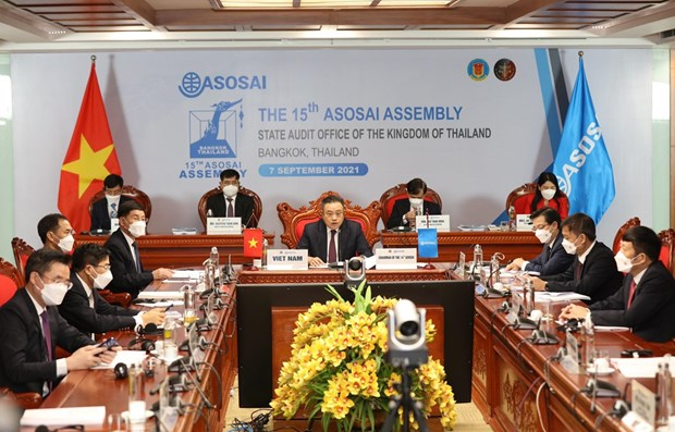 First working day of 15th ASOSAI Assembly hinh anh 1