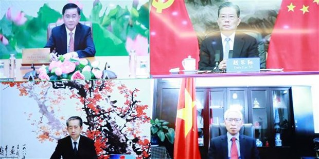 Vietnamese, Chinese Party inspection commissions step up collaboration hinh anh 2