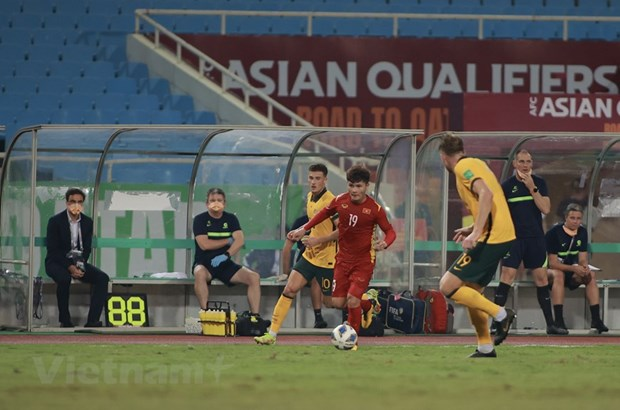 Vietnam lose 0-1 to Australia in World Cup qualifiers hinh anh 1