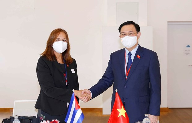 NA Chairman meets Cuba's legislator in Austria hinh anh 1
