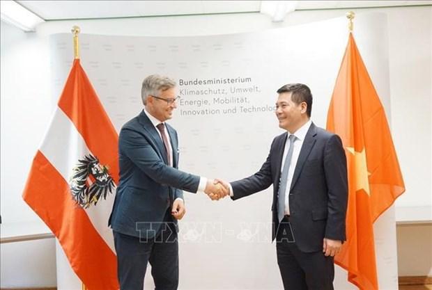 Vietnam, Austria eye cooperation in renewable energy development hinh anh 1