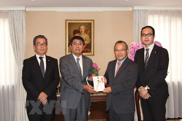 Japanese firm supports Vietnamese people facing difficulties amid COVID-19 hinh anh 1