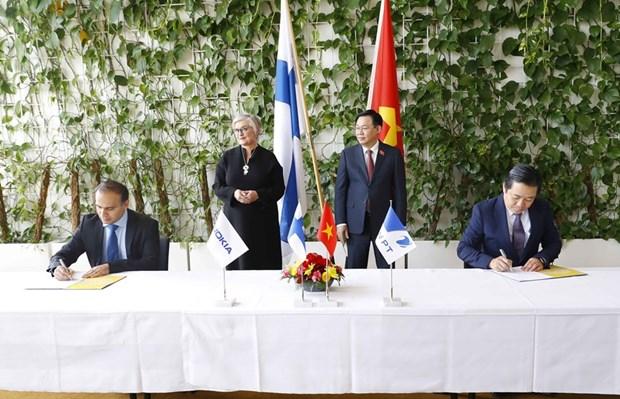 VNPT, Nokia sign cooperation agreement on digital infrastructure development hinh anh 1