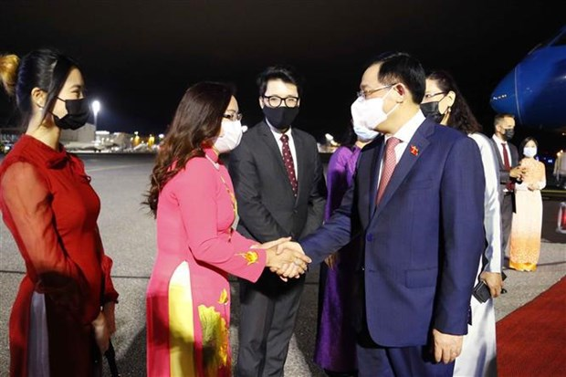NA Chairman begins official visit to Finland hinh anh 1