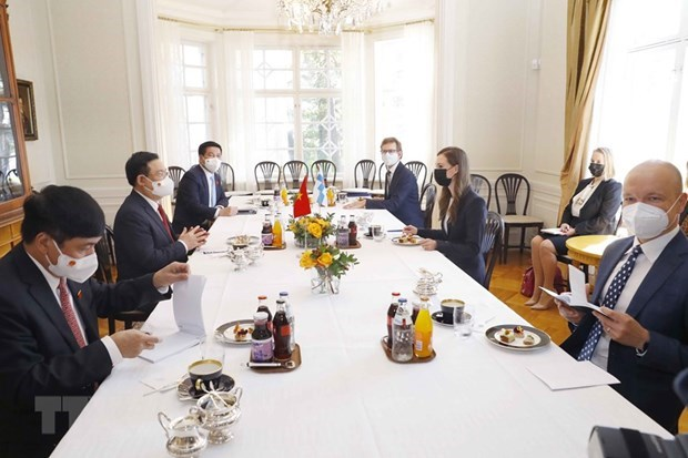 NA Chairman meets Finnish Prime Minister hinh anh 2